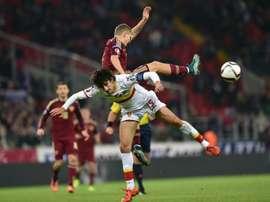 Stefan Savic se ha quedado sin Mundial. AFP/Archivo