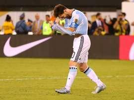 Scaloni veut pouvoir entraîner Messi. AFP
