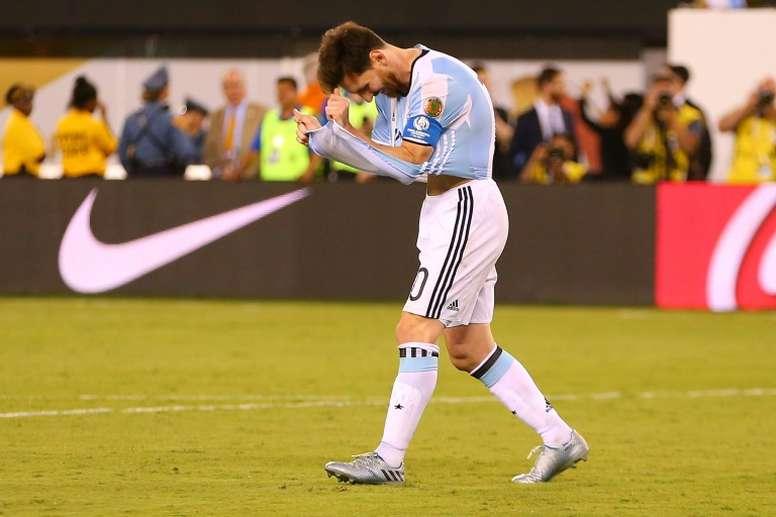 Sólo quedan seis jugadores de aquella final perdida ante Chile en 2016. AFP