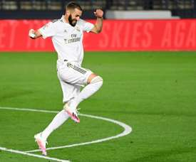 Benzema takes the limelight and turns the title towards Madrid. AFP