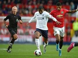 Prováveis escalações de Liverpool e Manchester United. AFP