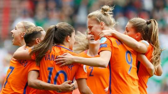Women's football on a rise. AFP