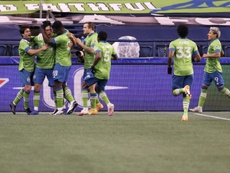 Defending champion Sounders beat Dallas in MLS playoffs. AFP