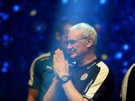 Claudio Ranieri tiene carta blanca para fichar, pero quizá no la use. AFP