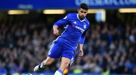 Costa played with Terry at Chelsea. AFP