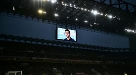Italia llora a Astori un año después. AFP