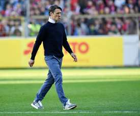 Niko Kovac was not happy with his Bayern side. AFP