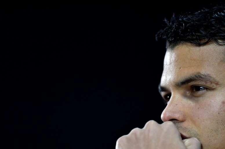 Thiago Silva pediu respeito com a Seleção Brasileira. AFP