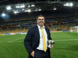 Australia coach Ange Postecoglou was critical of both Football Federation Australia and Professional Footballers Australia, as players boycotted promotional appearances ahead of Thursdays game against Bangladesh