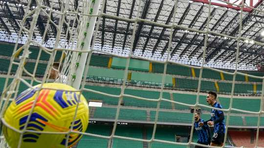Inter could have a change of ownership.AFP