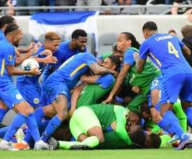Jamaica and Curacao reach Gold Cup quarter-finals. AFP
