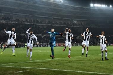 Ronaldo won the game. AFP