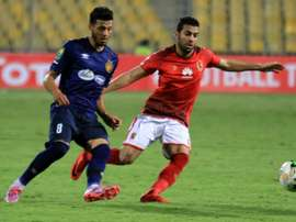 Al Ahly were made to settle for a point against Esperance of Tunisia. AFP