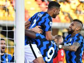 Inter were dominat. AFP