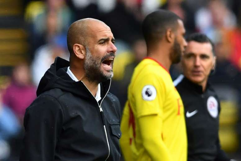 Guardiola sigue buscando central. AFP