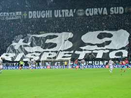 Small ceremony marks 35 years since Heysel disaster. AFP