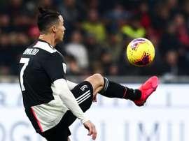 Cristiano voltará à Itália após a Semana Santa. AFP