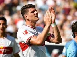 Mario Gomez was one of the players who won the Bundesliga 12 years ago. AFP