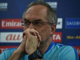 Stielike is the new boss of Tianjin Teda. AFP