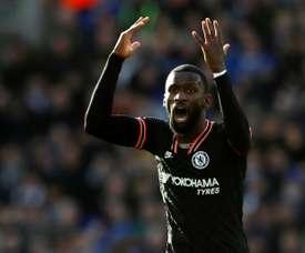 Chelsea refuse de prêter Rüdiger au PSG. AFP