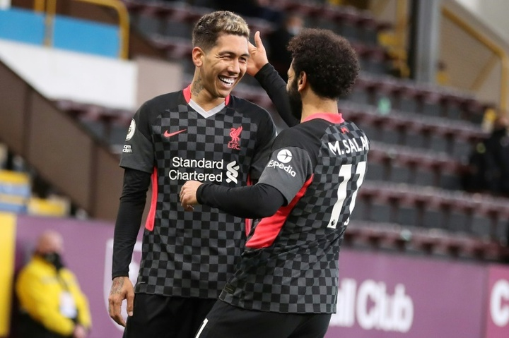 Firmino could be one of three Brazilian players missing for Liverpool. AFP