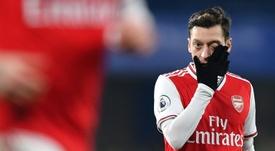 Accord trouvé entre Özil et Arsenal. AFP