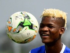 Didier Ndong has not reported to the club for weeks. AFP