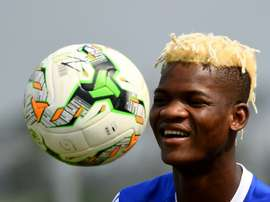 Ndong won't have been smiling when his contract was cancelled. AFP
