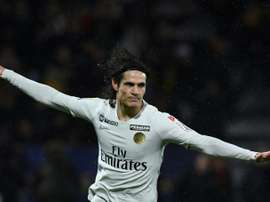 Cavani ties League Cup goals record as PSG advance.