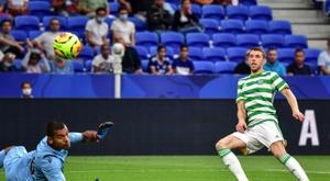 Les Rangers gagnent le derby écossais. AFP