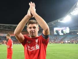 Jamie Carragher has tipped former Liverpool team-mate Steven Gerrard to become a manager. AFP
