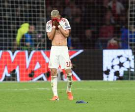 L'infanzia difficile dell'attaccante dell'Ajax. AFP
