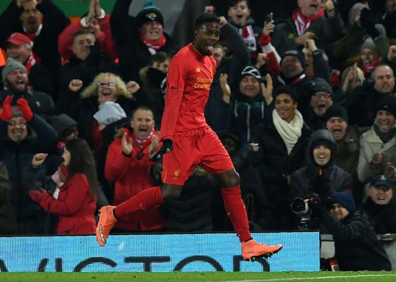 Liverpool's Divock Origi is set for his first sustained run in the starting line-up. AFP