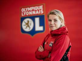 Ada Hegerberg does not want women's football to take back seat due to coronavirus crisis. AFP