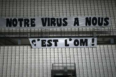 Nice's match with PSG will take place behind closed doors due to new local restrictions. AFP