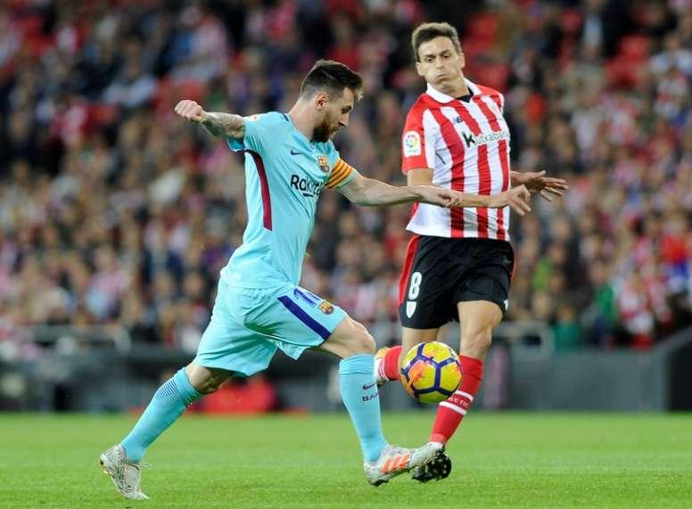 Le Barça veut taper du poing sur la table. AFP