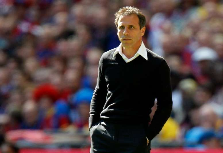 Zola is set to take over at Birmingham. AFP