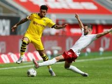 Dortmund reveal plan to replace Man Utd target Sancho. AFP