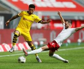 Il Dortmund abbassa il prezzo di Sancho. AFP