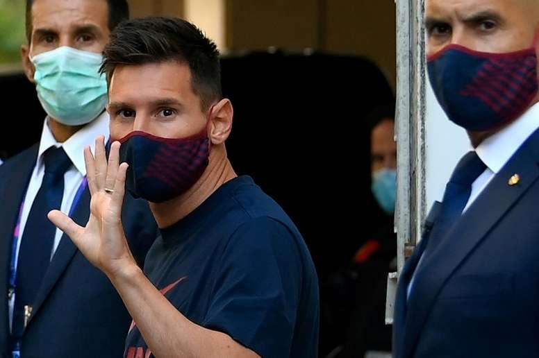 Messi suena para abandonar el Barça este mismo verano. AFP