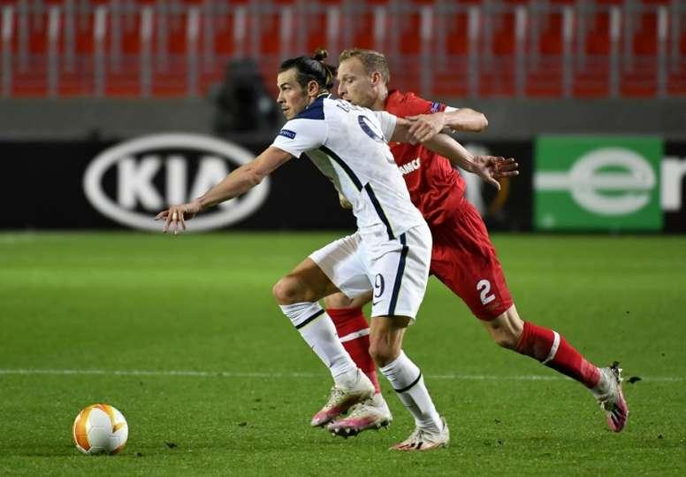 Bale non convince con gli Spurs. AFP