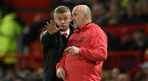 Solskjaer threatened to get rid of half of his squad. AFP