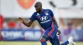 Ndombélé es una pieza fundamental en el Olympique de Lyon. AFP