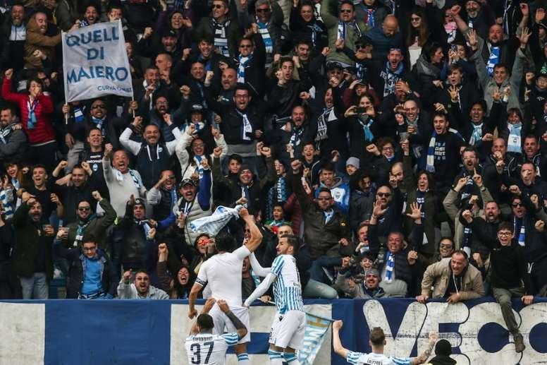 Le formazioni ufficiali di Sampdoria-SPAL. AFP