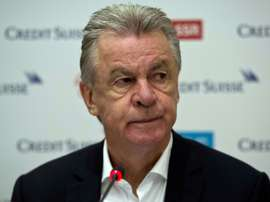 Former Bayern Munich boss Ottmar Hitzfeld (pictured) said that former France great Zinedine Zidane is only living off his illustrious name as a player