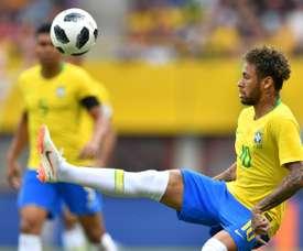 Suiza se enfrentara a la Brasil de Neymar en su debut. AFP