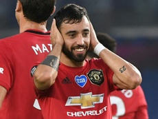 United's momentum is building. AFP