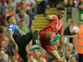 Le défenseur central souhaite rester à Liverpool la saison prochaine. AFP