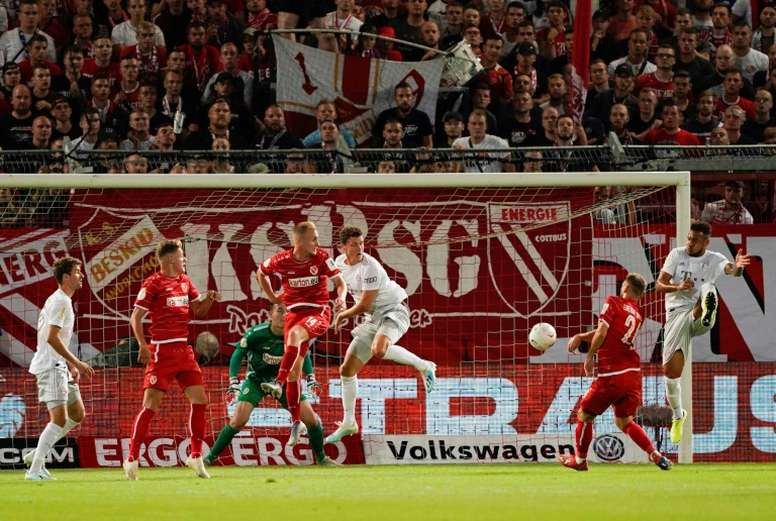 Bayern progress in German Cup. AFP