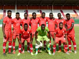 Nkana won the Zambian league foor the first time in seven years. AFP